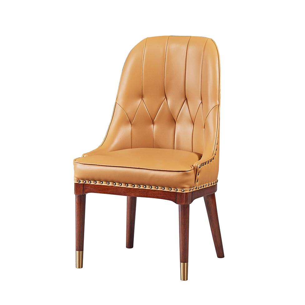 库普思美式轻奢餐椅KH-119