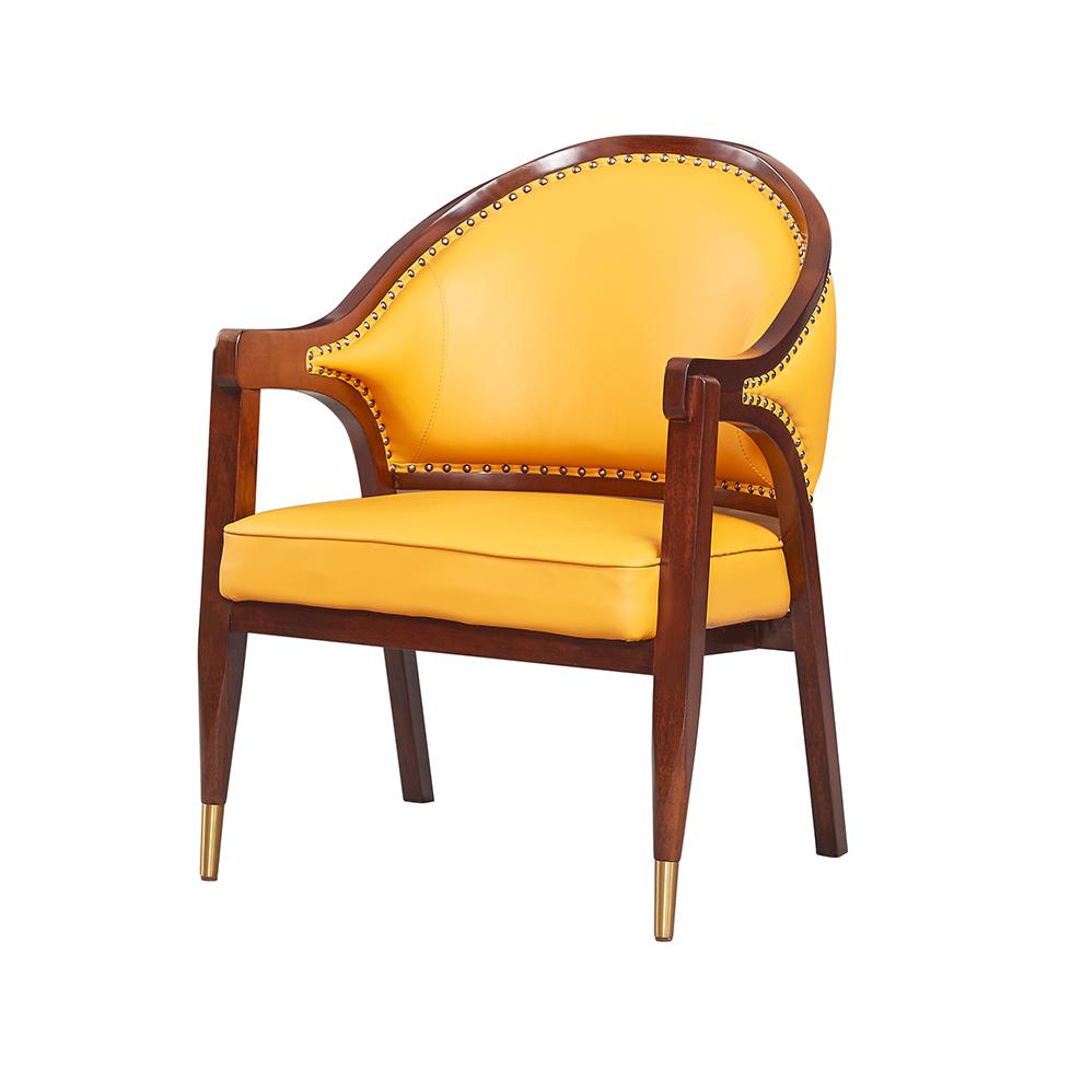 库普思美式轻奢休闲椅KH-119