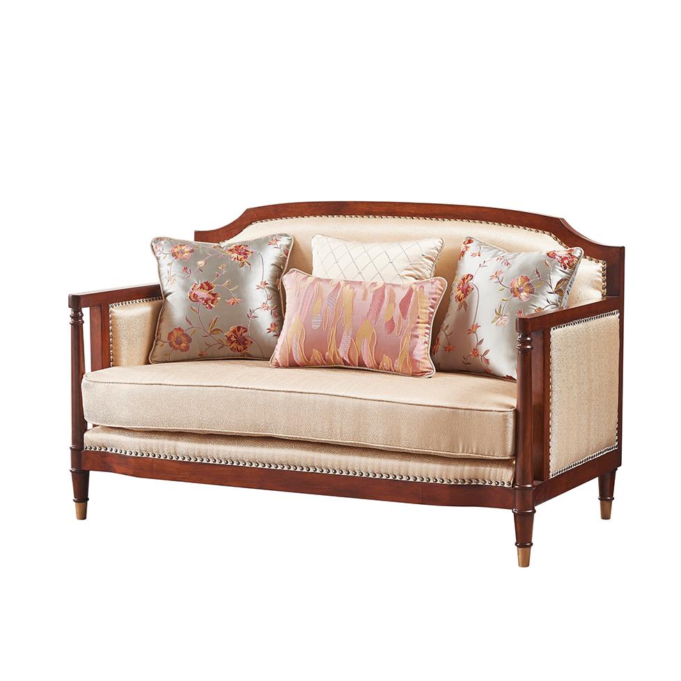 库普思美式轻奢双人沙发K-69