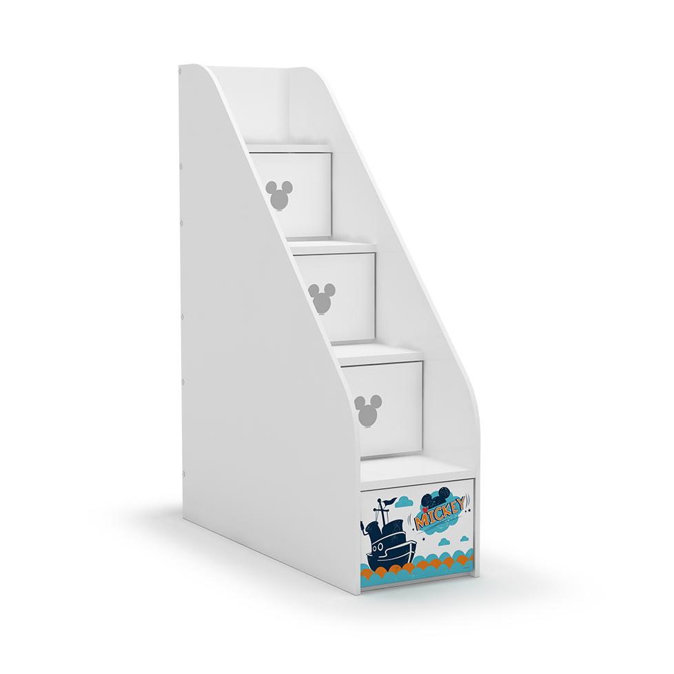 酷漫居魔方系列通用高低床楼梯柜MF1-K201