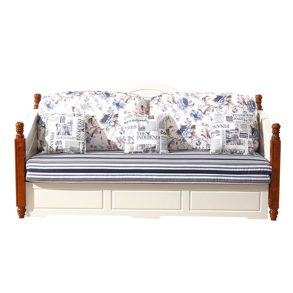 蓝晨圣卡琳地中海沙发床6609