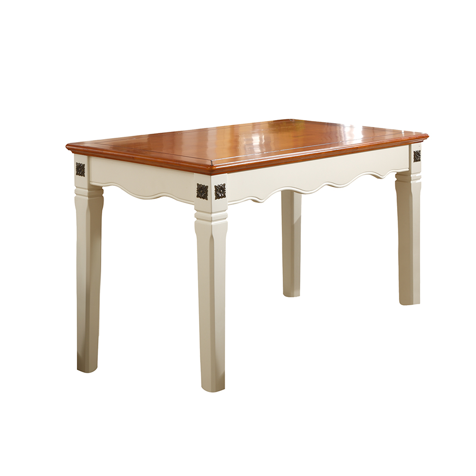 蓝晨圣卡琳地中海6601长餐桌-米白
