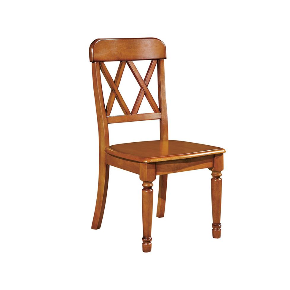 蓝晨奥美卡美式餐椅8803