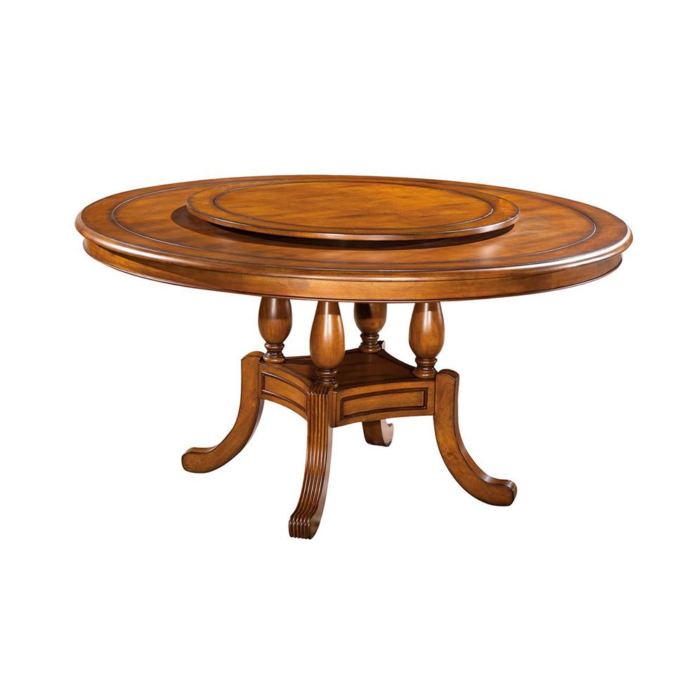 蓝晨奥美卡美式餐桌8808 130cm餐桌