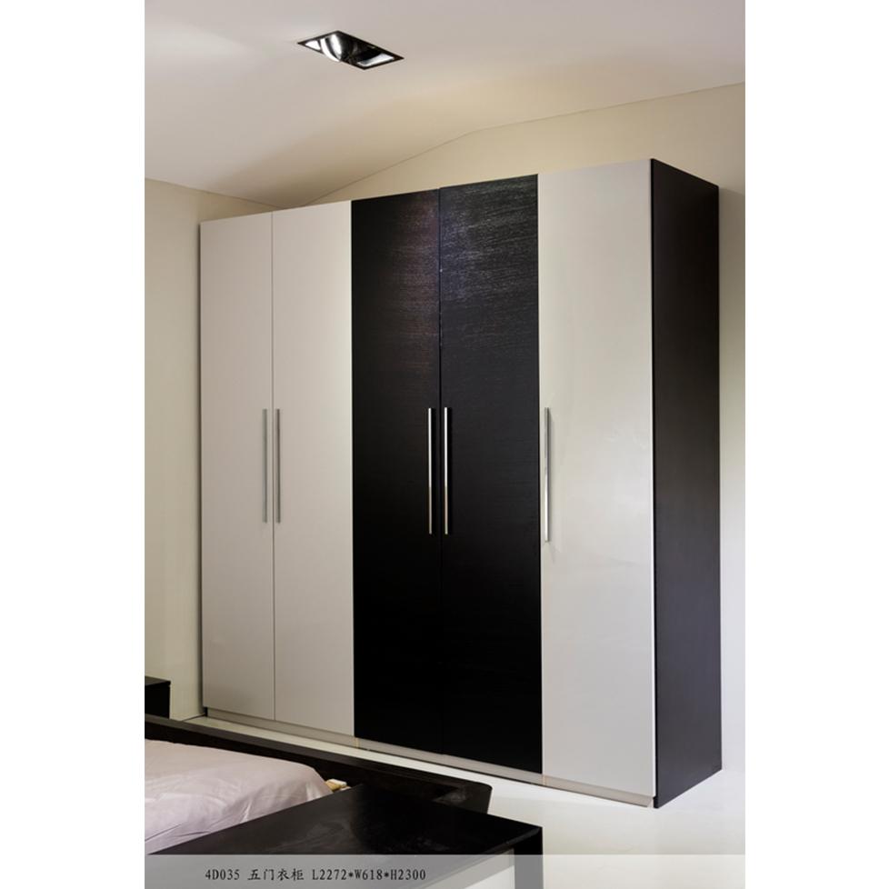 美持现代五门衣柜4D035