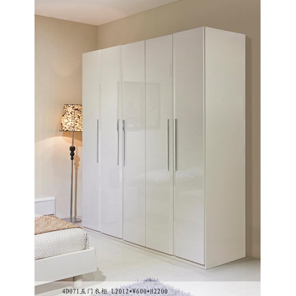 美持现代五门衣柜4D071