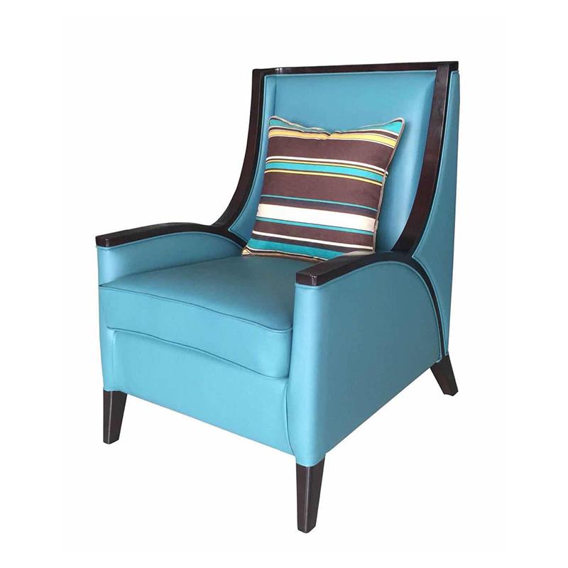 曼格美式轻奢休闲椅195