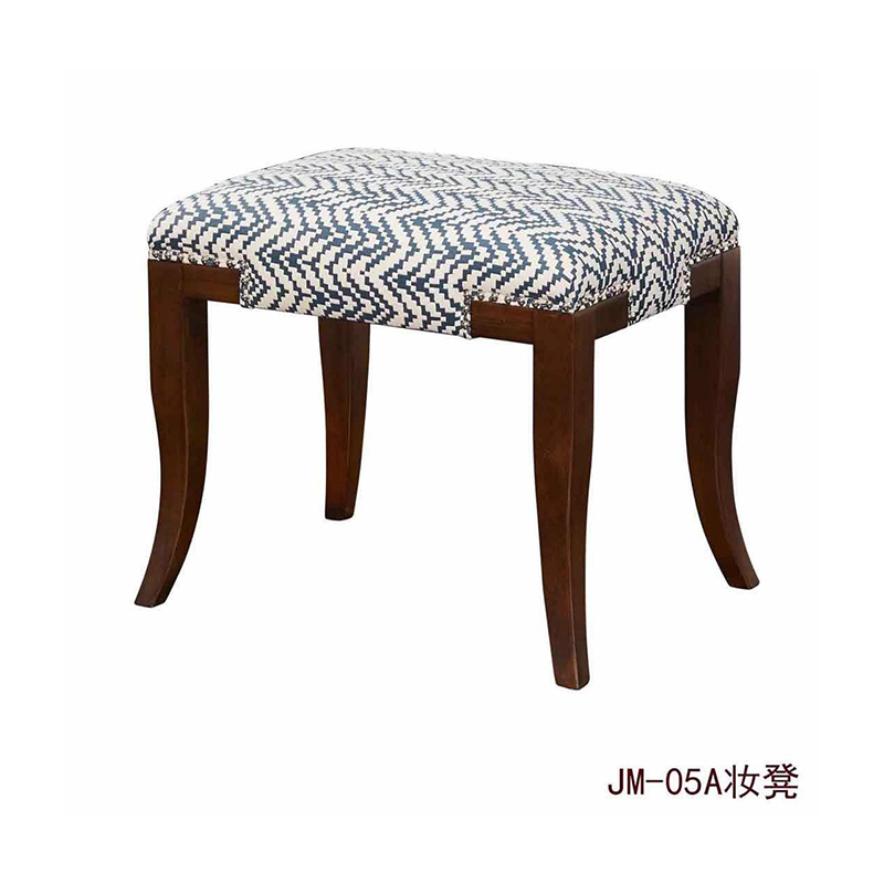 曼格美式轻奢妆凳05