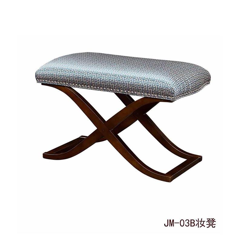 曼格美式轻奢床尾凳03