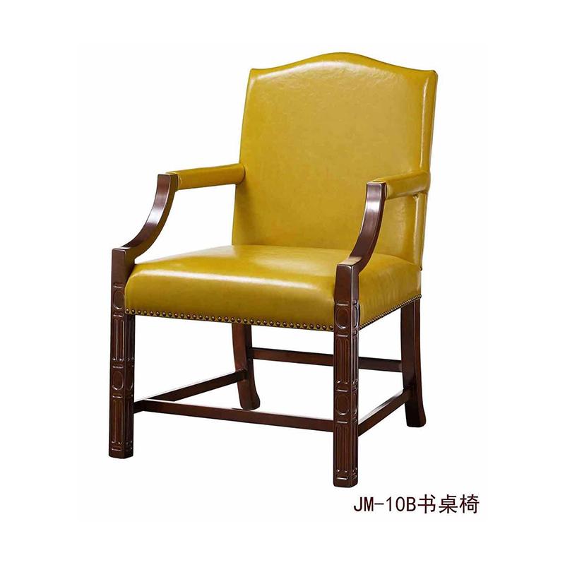 曼格美式轻奢书桌椅10