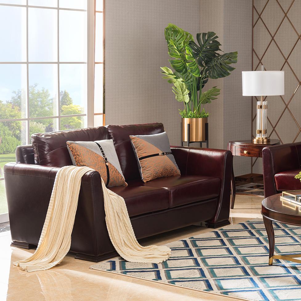 宝居乐美式轻奢双人沙发TP223