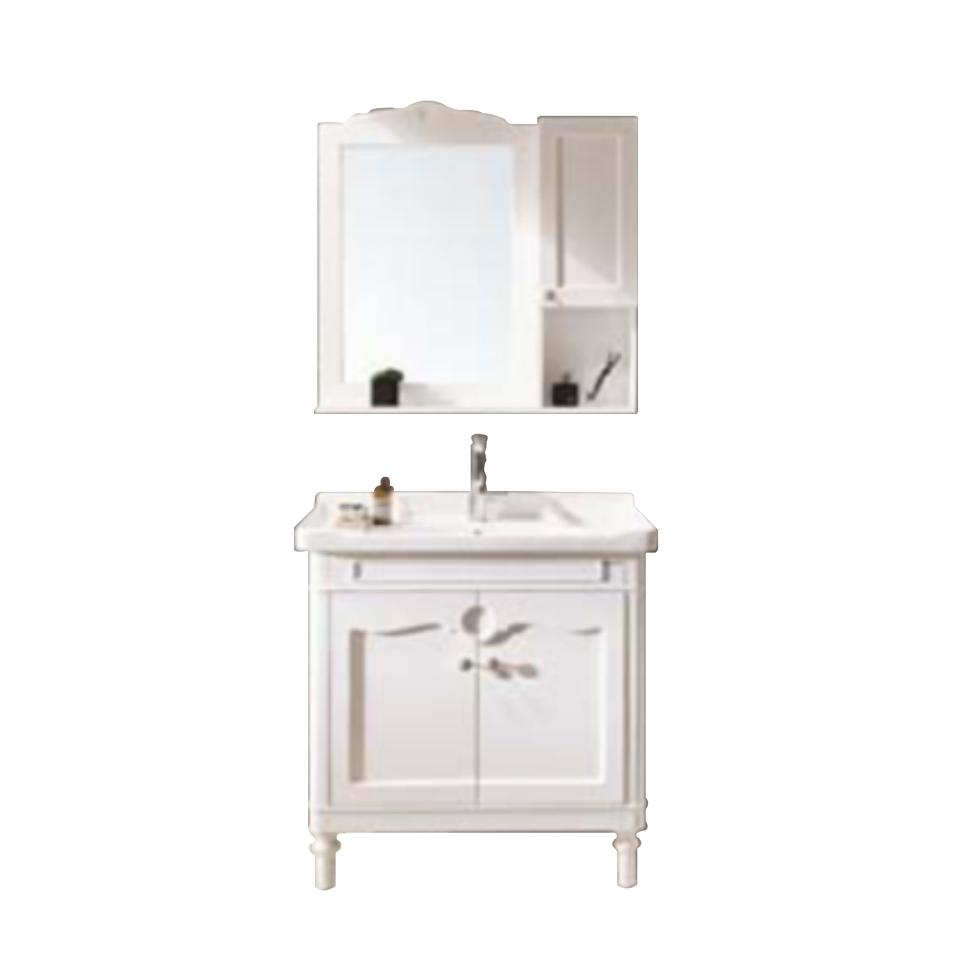 贝朗卫浴80公分浴室柜V53843W-W