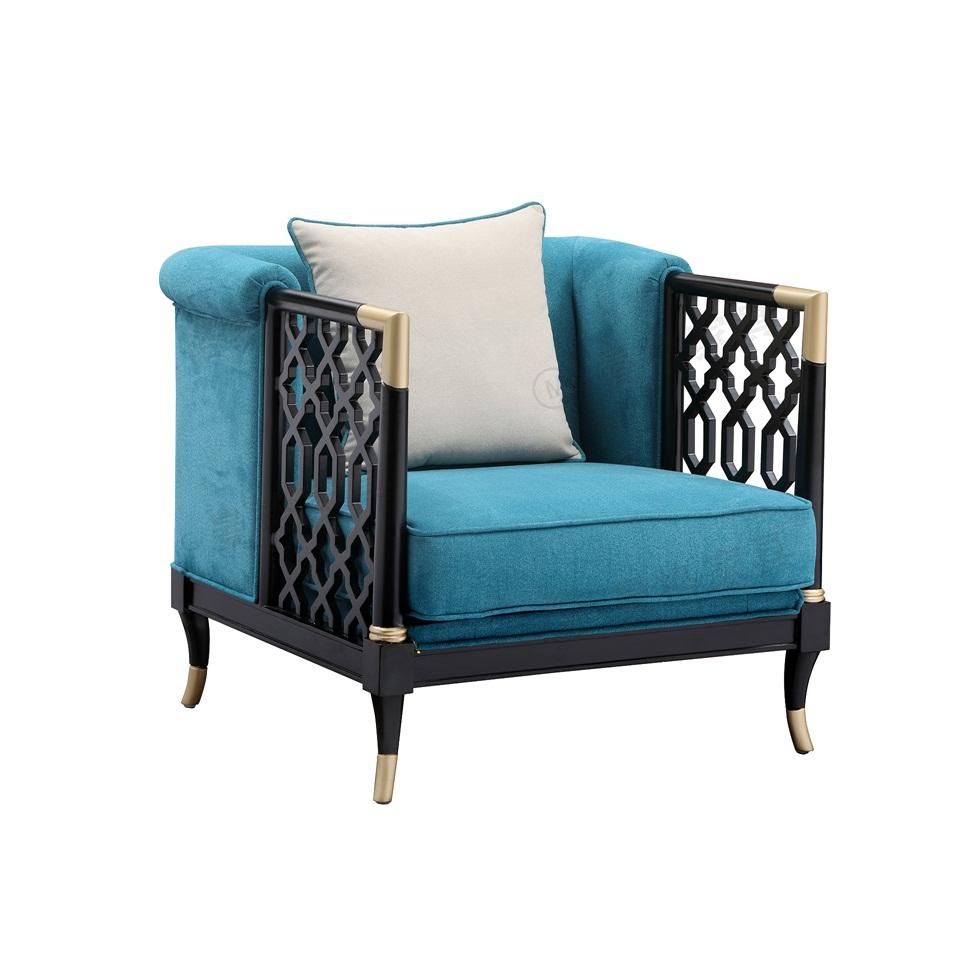 曼格新中式单人沙发/单椅R-A01