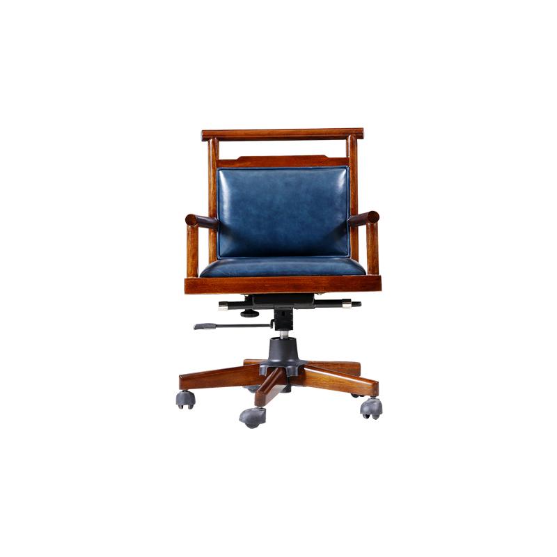 宝居乐新中式阑廷苑书椅TL610大班椅