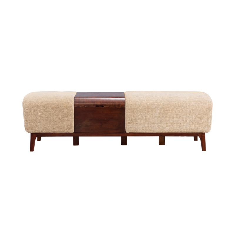宝居乐美式轻奢床尾凳TP221