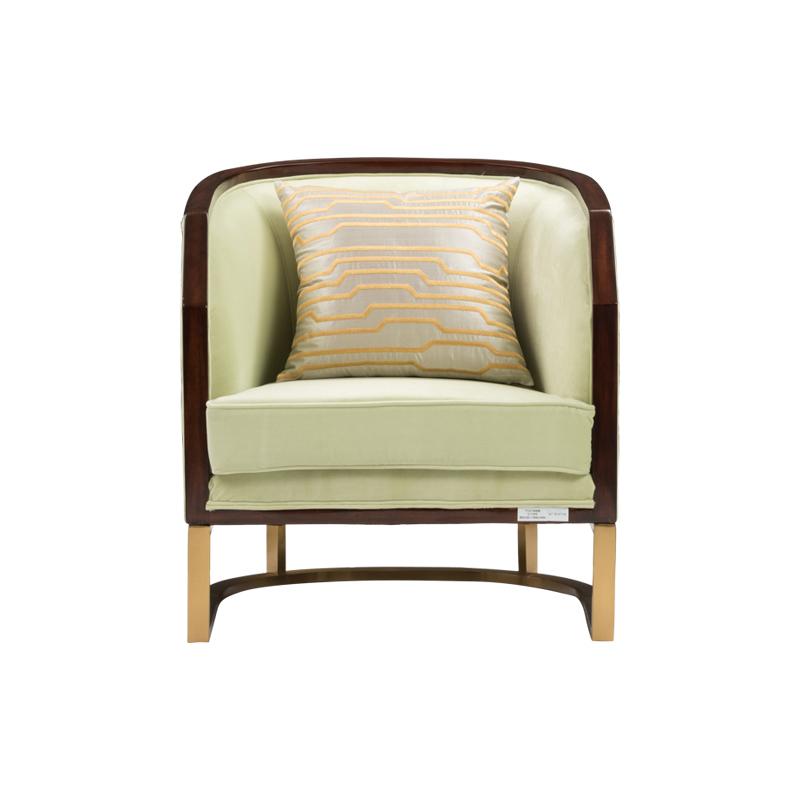 宝居乐美式轻奢休闲椅TP221