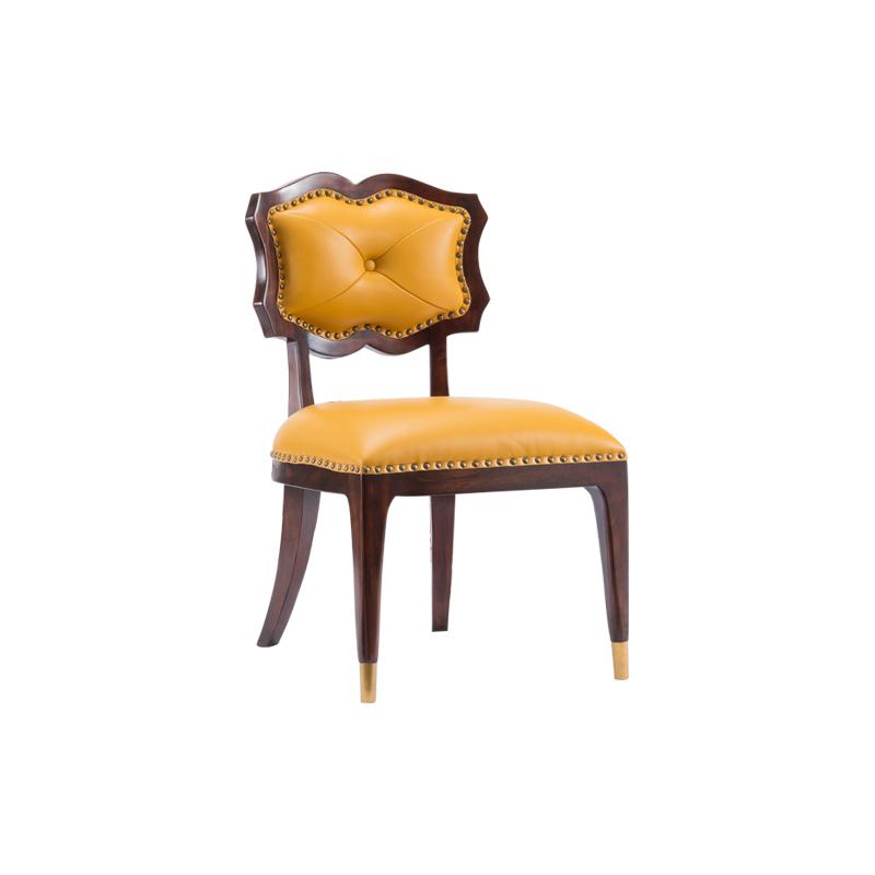 宝居乐美式轻奢茶椅/餐椅TP223