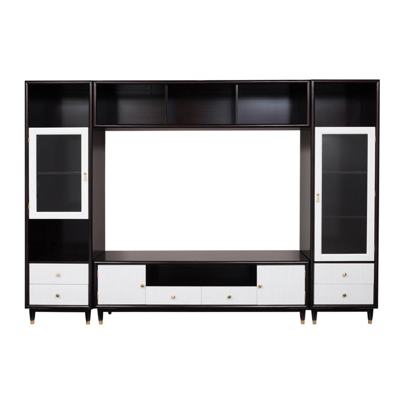宝居乐美式轻奢TP226组合电视柜