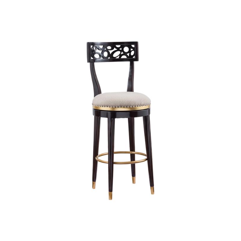宝居乐美式轻奢TP227吧椅