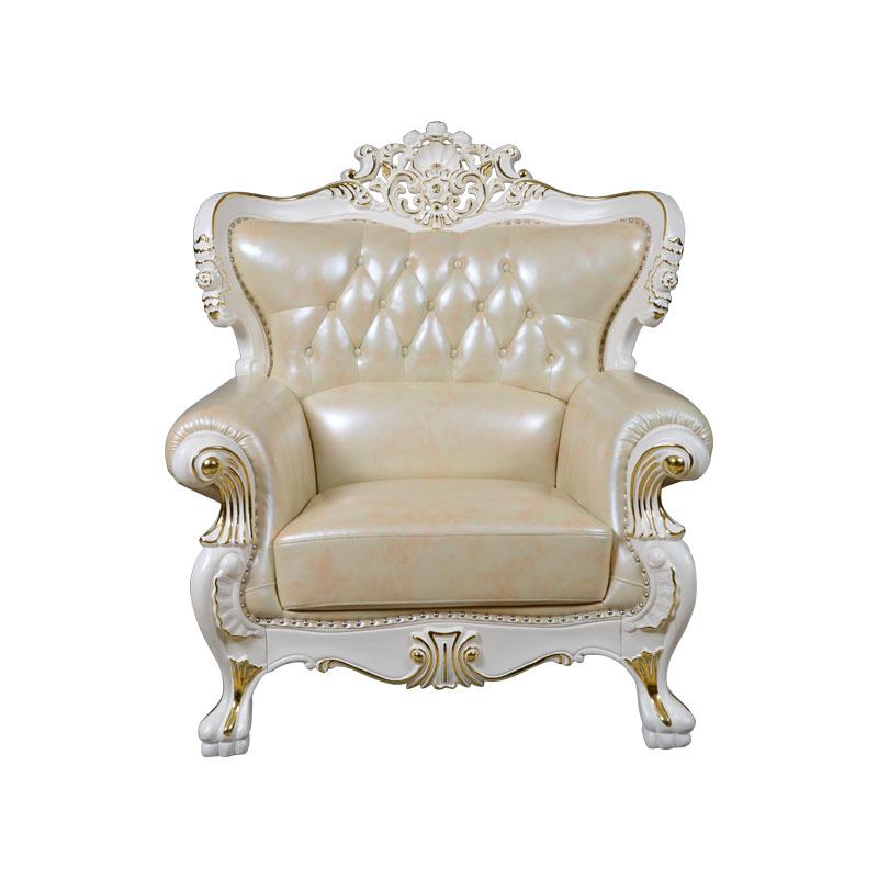 宝居乐欧式橡白公馆二代沙发单位X218