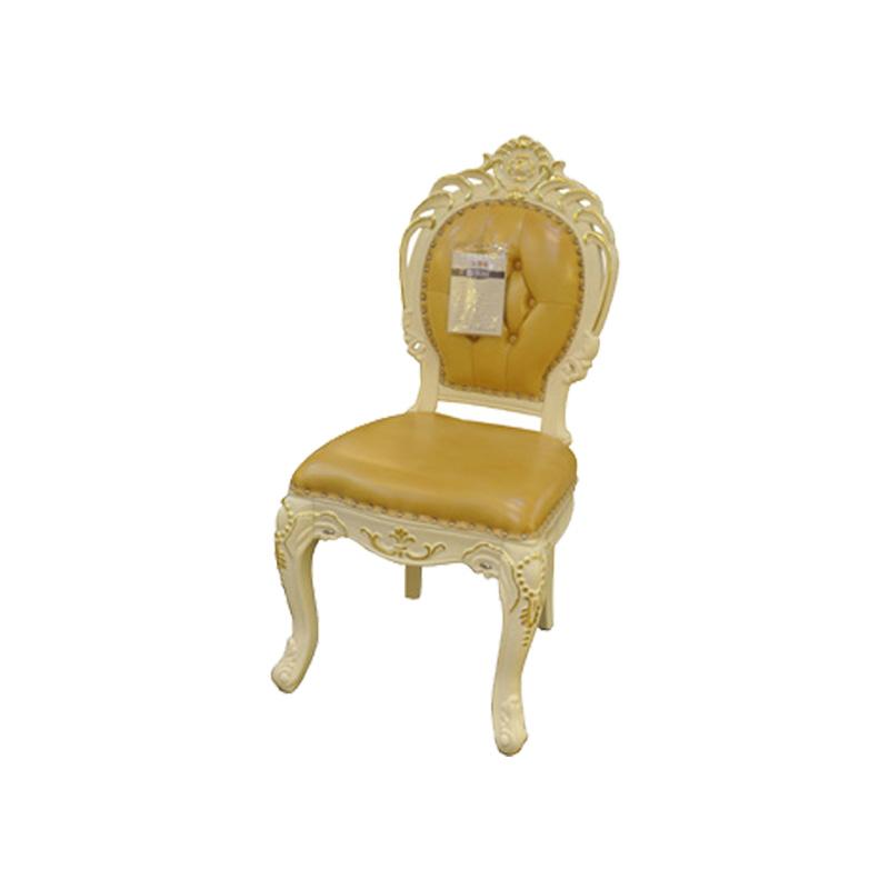 宝居乐欧式橡白公馆二代餐椅X219