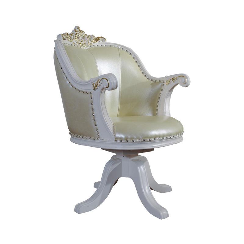 宝居乐欧式橡白公馆二代班前椅X220