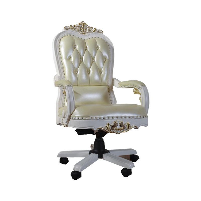 宝居乐欧式橡白公馆二代大班椅X220