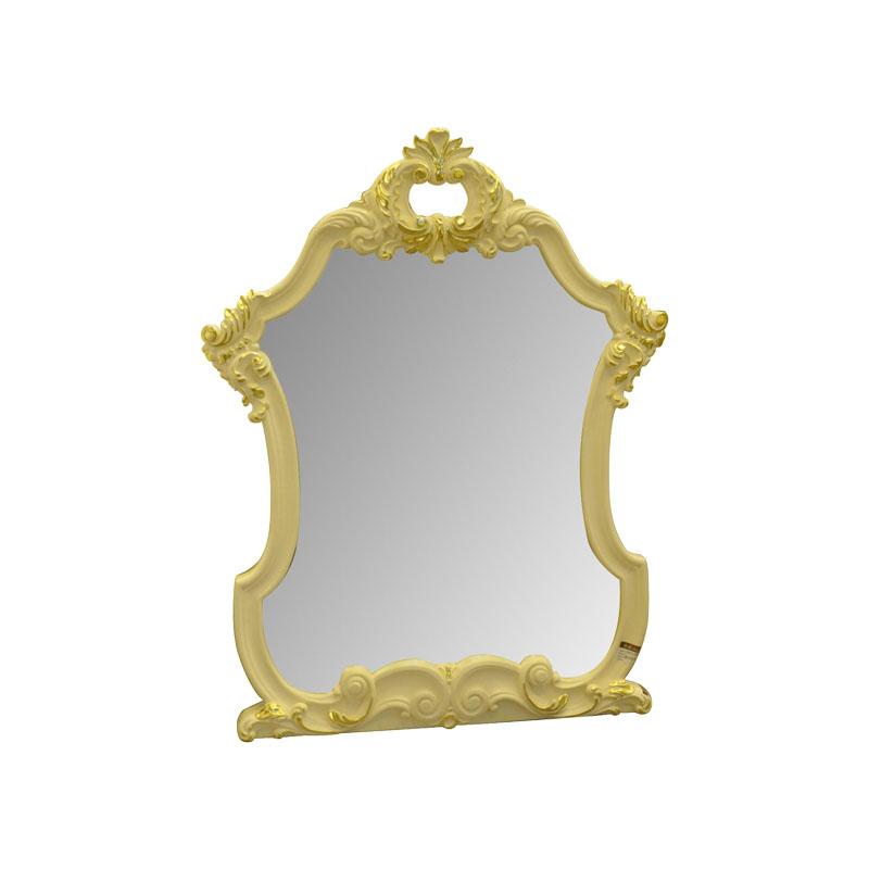 宝居乐欧式橡白公馆二代玄关镜X220