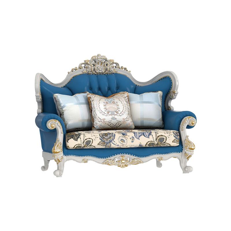 宝居乐欧式橡白公馆二代两人位沙发X221-2