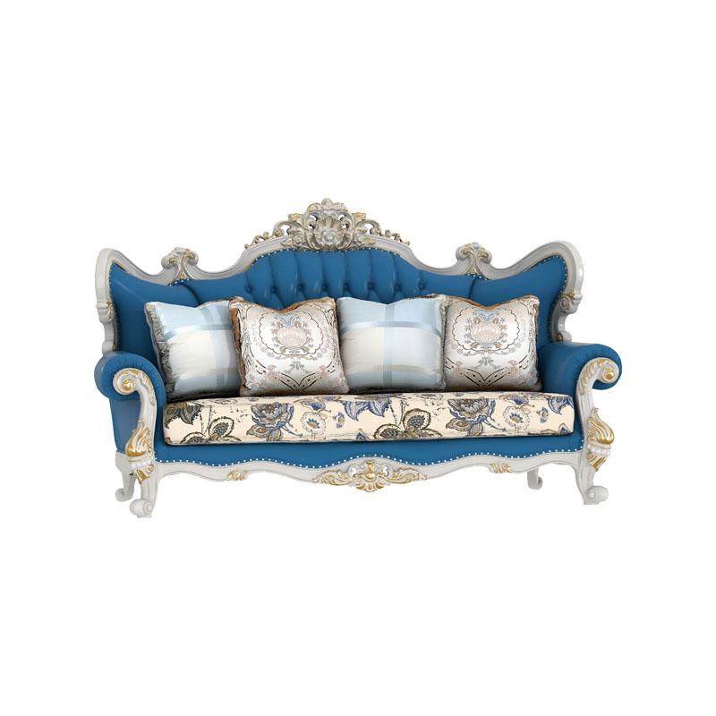 宝居乐欧式橡白公馆二代沙发三位X221-2