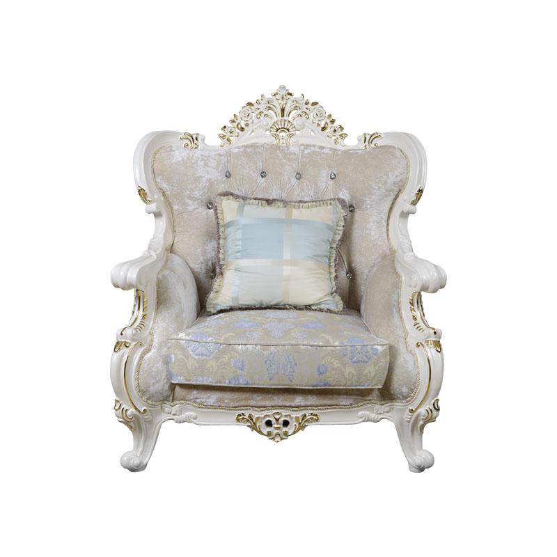 宝居乐欧式橡白公馆二代沙发单位X222