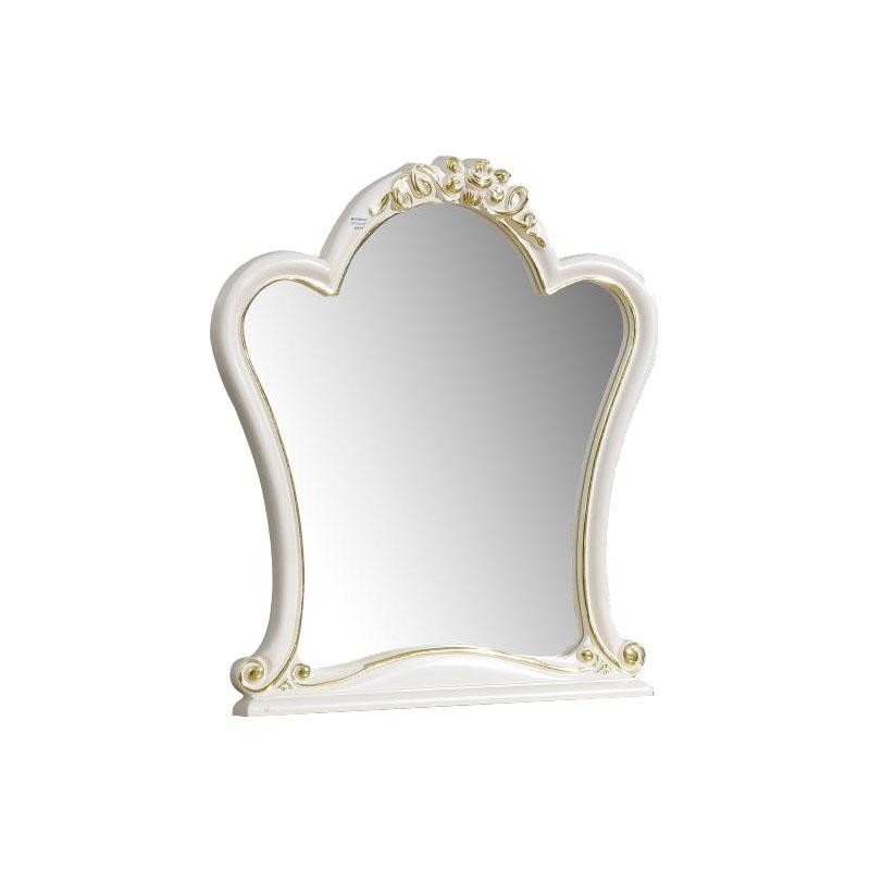 宝居乐欧式橡白公馆二代梳妆镜X226
