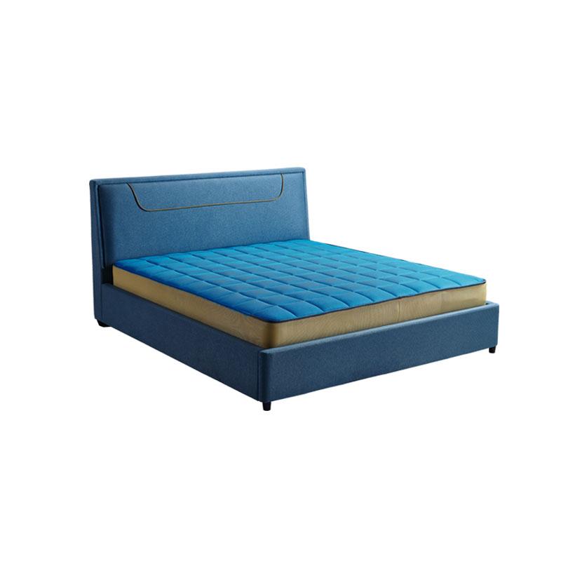 富牌家具现代简约卧室1.8米B01布艺床