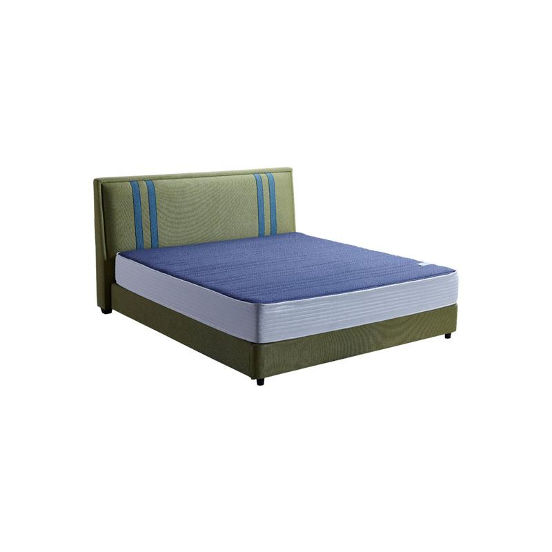富牌家具现代简约卧室1.8米B05布艺床