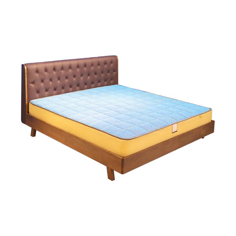 富牌家具现代简约卧室1.5米M1实木床