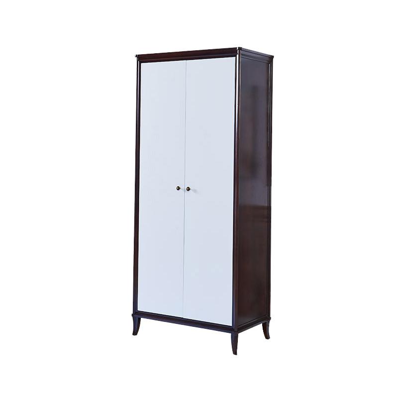 曼格家具美式轻奢两门衣柜R-W02