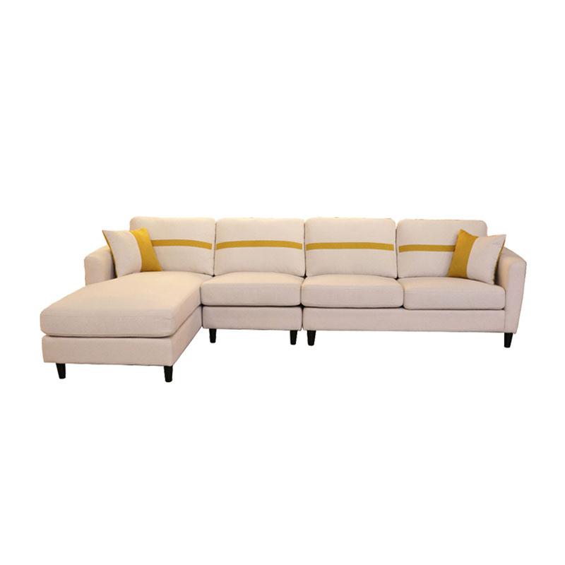 富牌家具现代休闲贵妃沙发B01沙发-L码