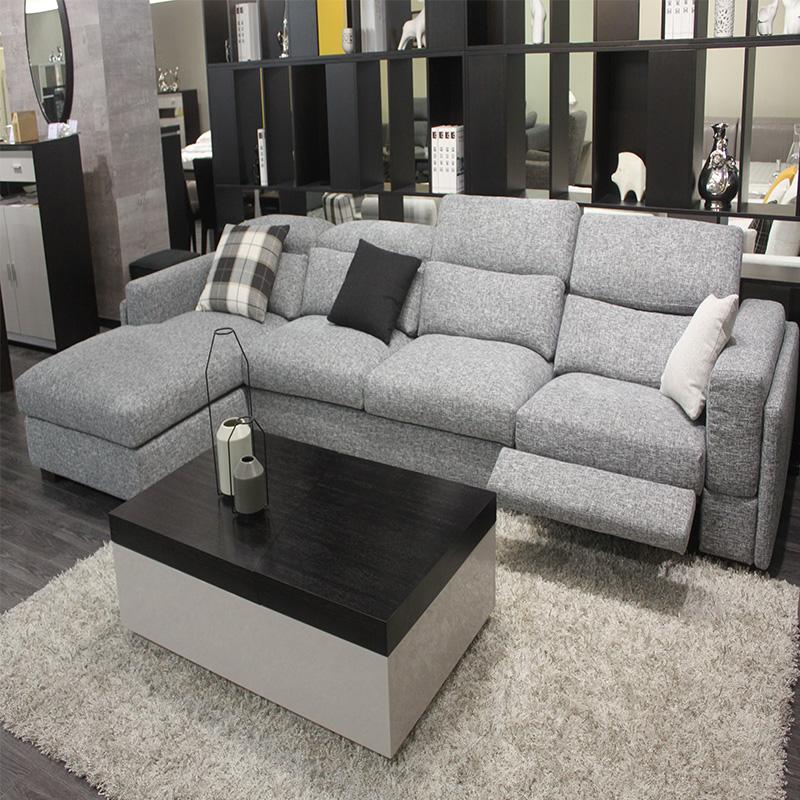 美持现代L型组合沙发RM058#-1