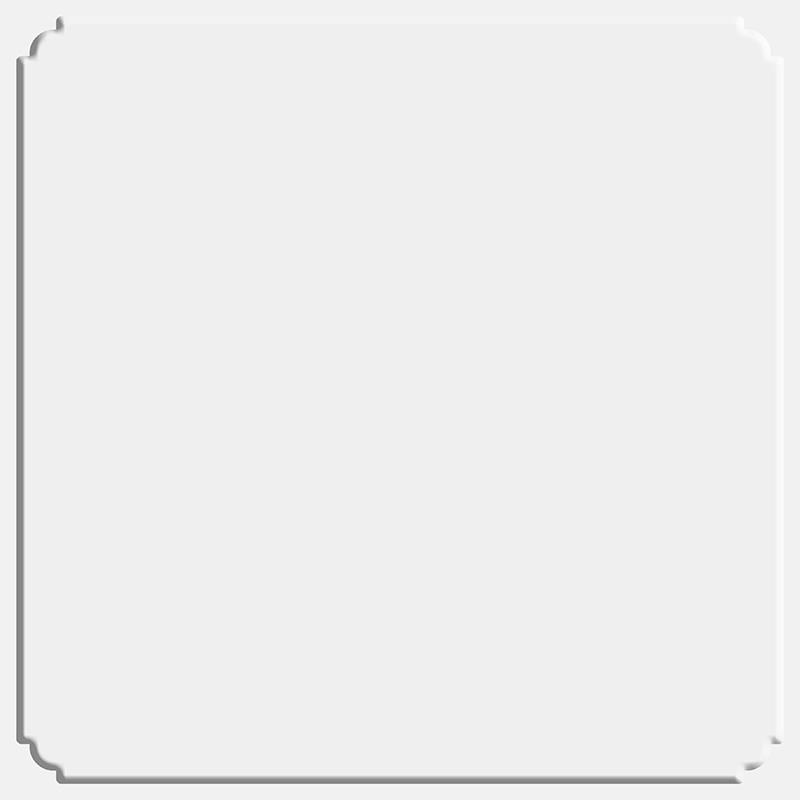巴迪斯吊顶铝扣板纳米纯白--角花模