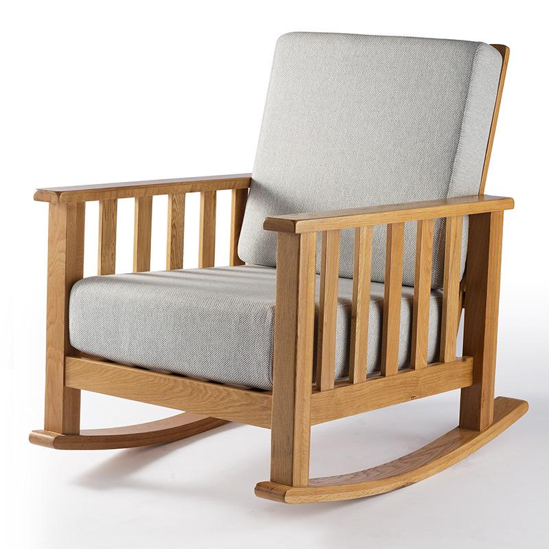 南纳鲁米北欧休闲摇椅K003