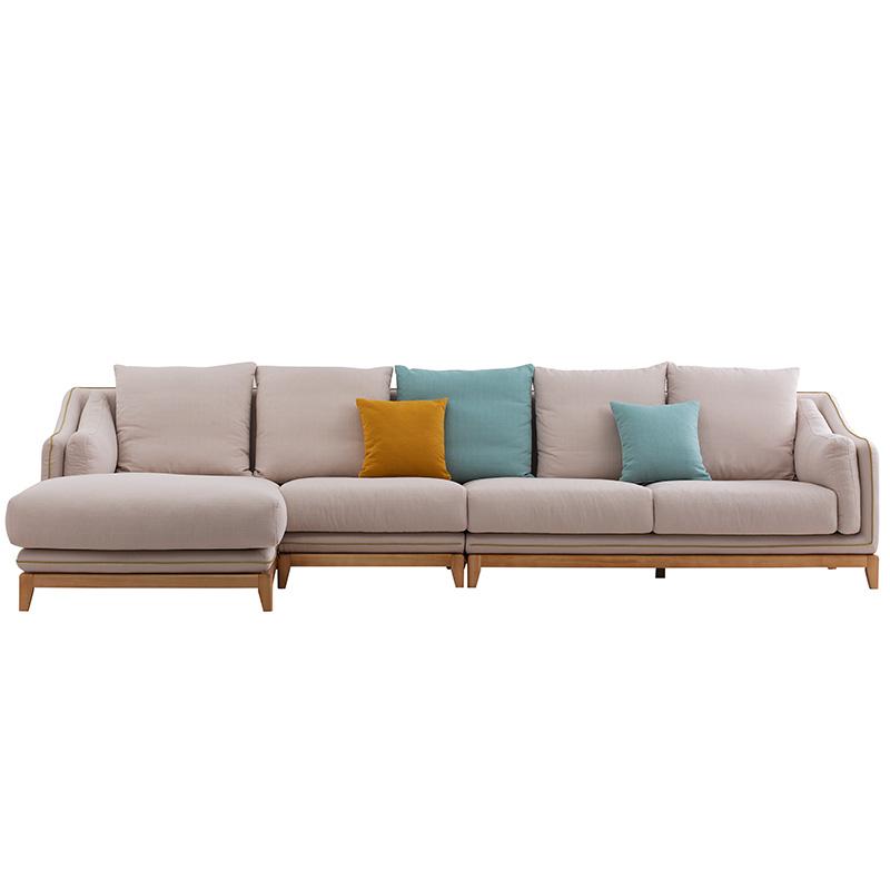 南纳鲁米北欧贵妃沙发K014