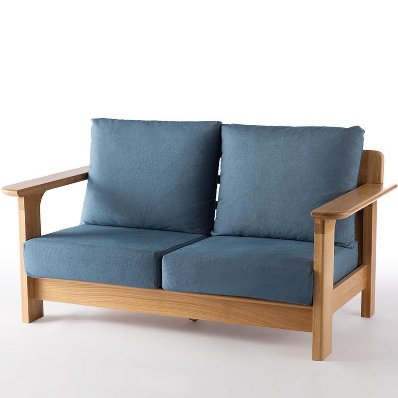 南纳鲁米北欧双位沙发K024
