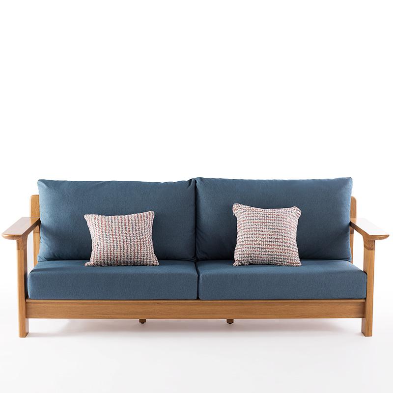 南纳鲁米北欧三位沙发K024