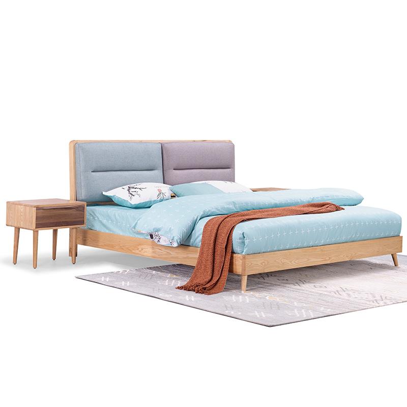 南纳鲁米北欧床KA05T8A 1.8普通床身