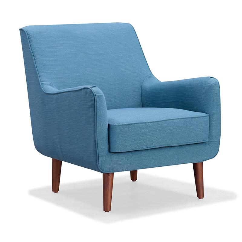 南纳鲁米北欧单人沙发KX01
