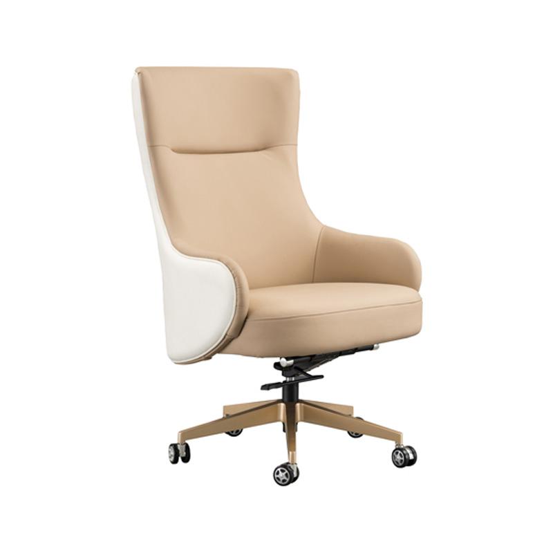 宝居乐意式实木轻奢大班椅SP301