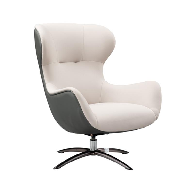 宝居乐意式实木轻奢休闲椅SP303