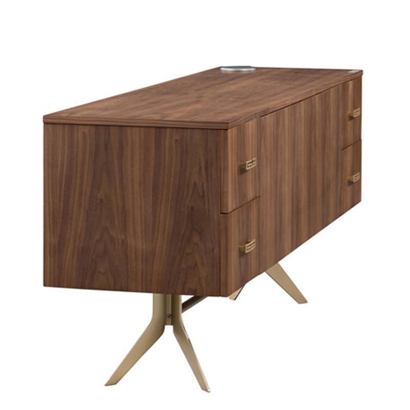 宝居乐意式实木轻奢电视柜SP301