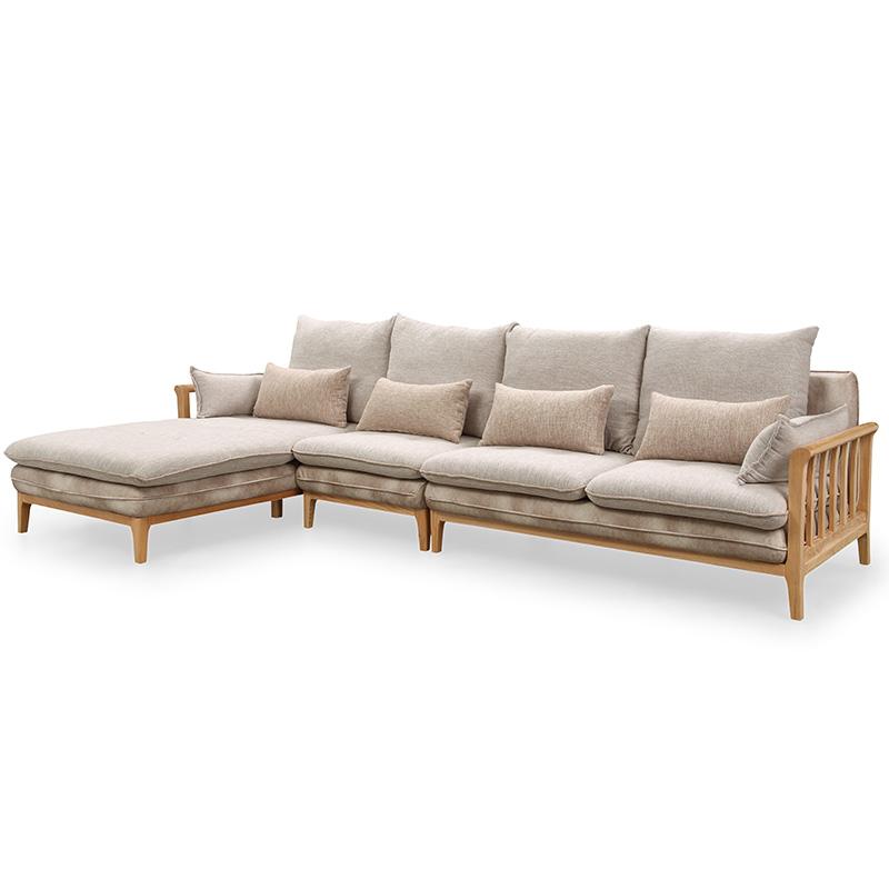 南纳鲁米北欧贵妃沙发K016