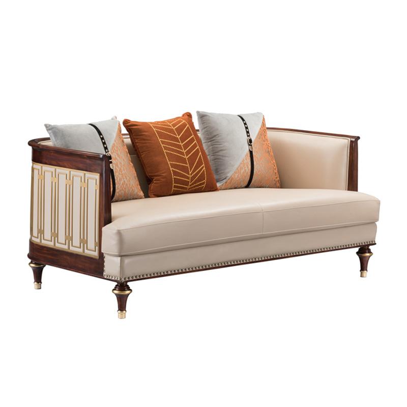 宝居乐美式轻奢二位沙发TP228